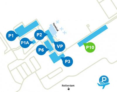 Airport-Rotterdam-parking-P10