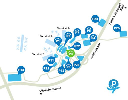 P3 Dusseldorf Airport