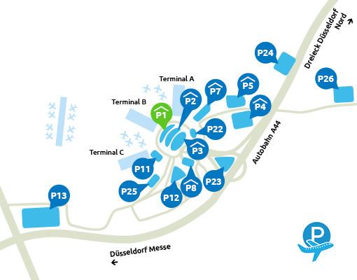 P1 Dusseldorf Airport
