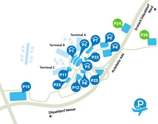 P24 en P26 Dusseldorf Airport