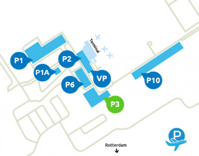 Airport-Rotterdam-parking-P3