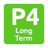Logo P4 Long Term Zaventem