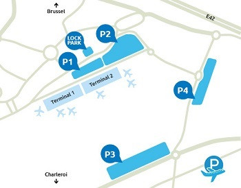 Airport-Charleroi-parking_plan