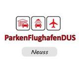 Logo Parken Flughafen DUS Neuss