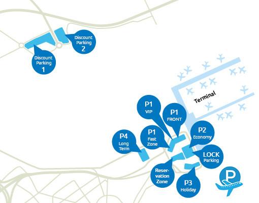 Parkeermogelijkheden rondom Brussel Airport
