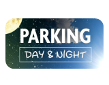 Parking day and night Francfort Hahn