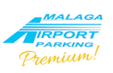 malaga airport parking logo