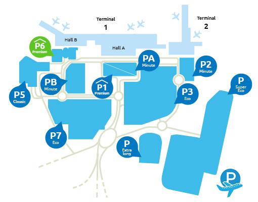 Airport-Marseille-parking-P6-Premium