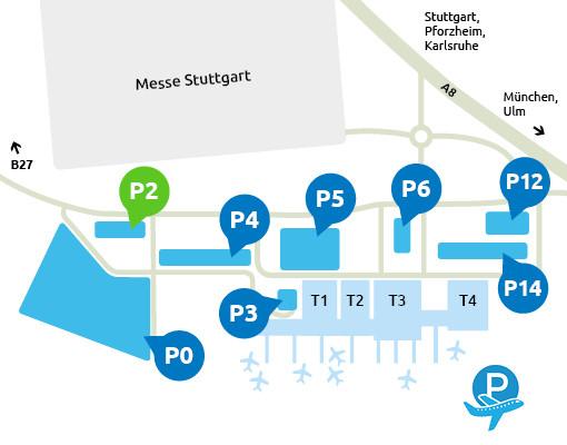 P2-Flughafen-Stuttgart-parken