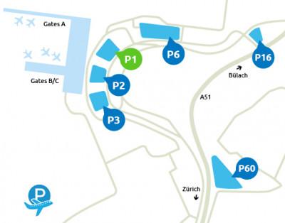 Airport-Zürich-parken-P1