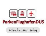 Logo Parken Flughafen DUS Kieshecker weg Düsseldorf Airport