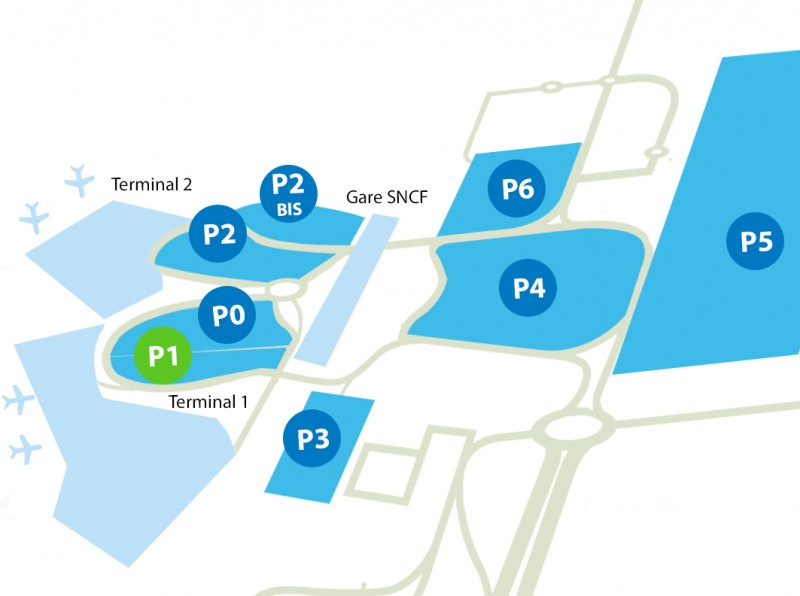Airport parking Lyon - P1