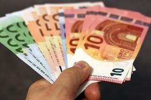 Euros Billets tendus