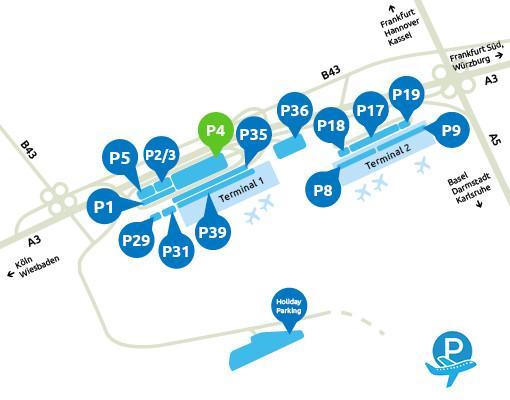 Parken Frankfurt Airport