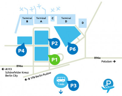 Airport-Schoenefeld-parken-P1
