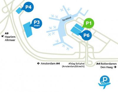 Airport-Schiphol-parking-P1