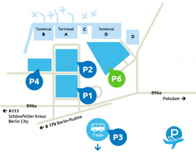 Airport-Schoenefeld-parken-P6