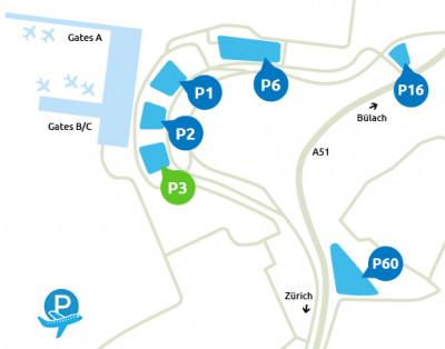 Airport-Zürich-parken-P3