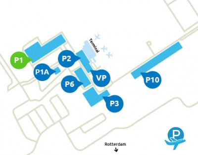 Airport-Rotterdam-parking-P1