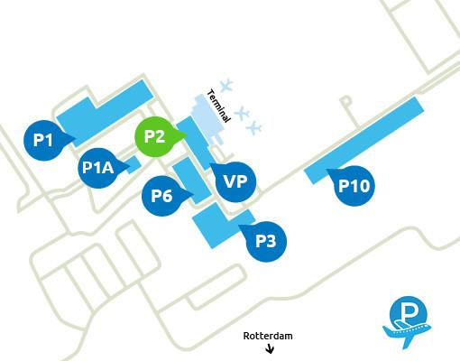Airport-Rotterdam-parking-P2