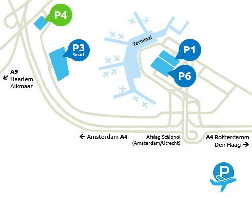 Airport-Schiphol-parking-P4