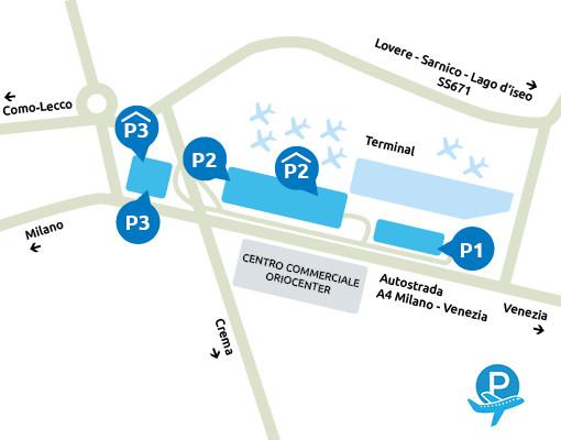 Parcheggio-Orio-al-Serio-Mappa