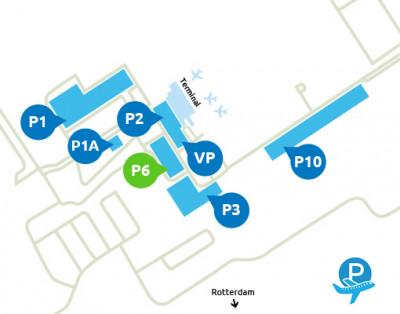 Airport-Rotterdam-parking-P6