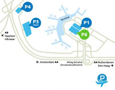 Airport-Schiphol-parking-P6