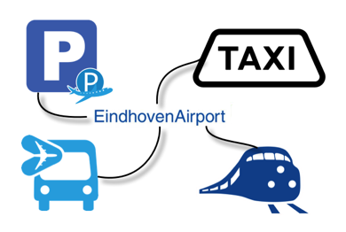 Reizen naar Eindhoven Airport