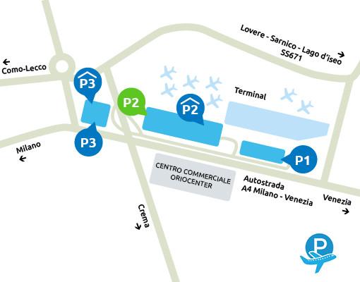 Mappa-parcheggio-p2-Orio-al-serio