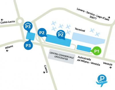 Parcheggio P1 Orio al Serio