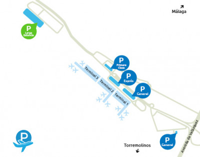 Airport-Malaga-parking-Larga-Estancia