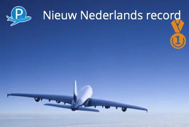 Record aantal passagiers Nederlandse Luchthavens