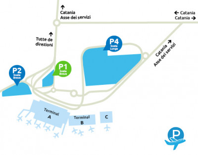 Airport-Catania-parcheggio-P1-Sosta-Breve
