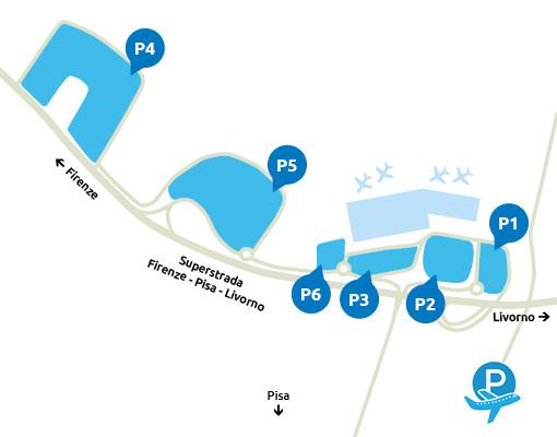 Airport-Pisa-Parcheggio