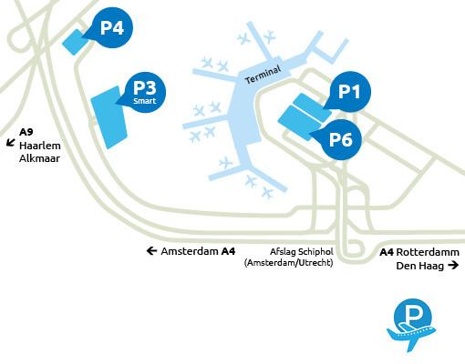 Airport-Schiphol-parking