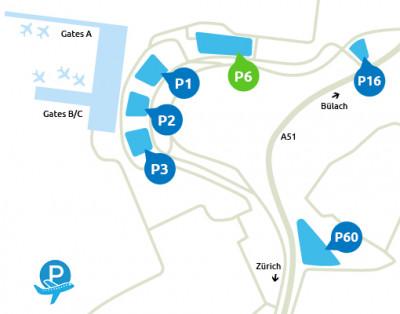 Plan_parking_P6_Aeroport_Zurich