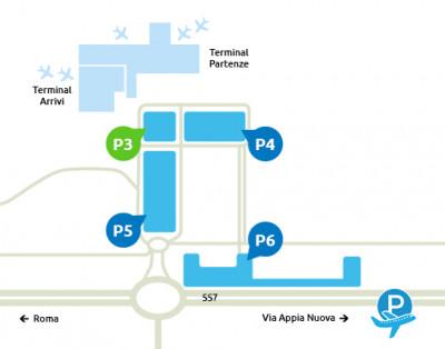 mappa-Parcheggio-P3-Ciampino