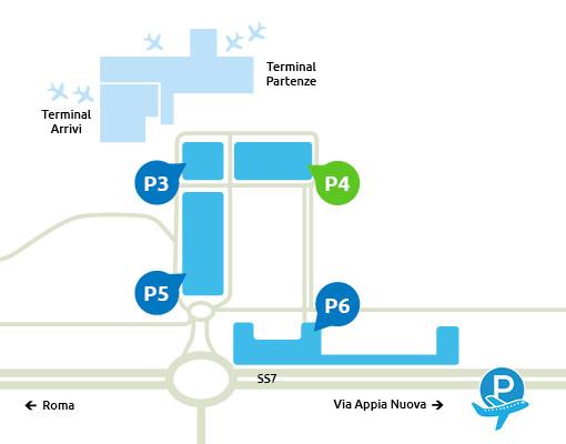 mappa-Parcheggio-P4-Ciampino