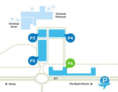 mappa-Parcheggio-P6-Ciampino