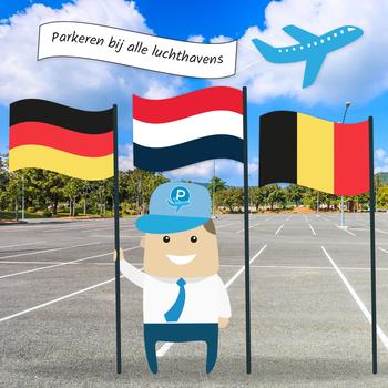 Kort parkeren bij vliegvelden is goedkoper in Nederland