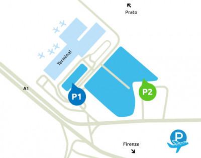 Mappa-Aeroporto-Firenze-parcheggio-P2