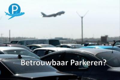Parkeren rondom het vliegveld betrouwbaar