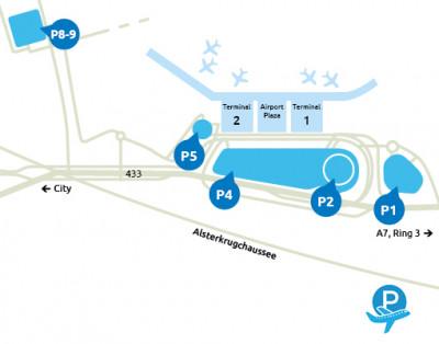 Airport-Hamburg-parken